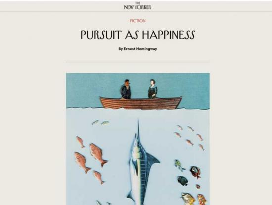 Persuit as Happiness