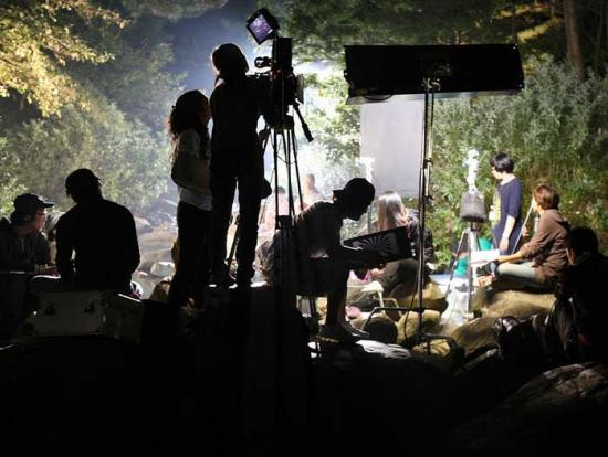 Film Shooting Venu about Light boys